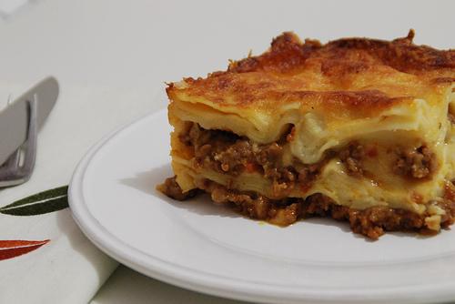 Lasagna al forno photo 2