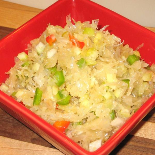 Sauerkraut salad photo 1