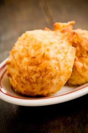 Cheese garlic biscuits photo 2
