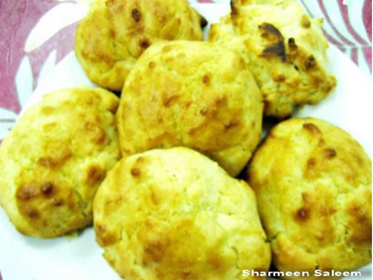 Cheese garlic biscuits photo 3