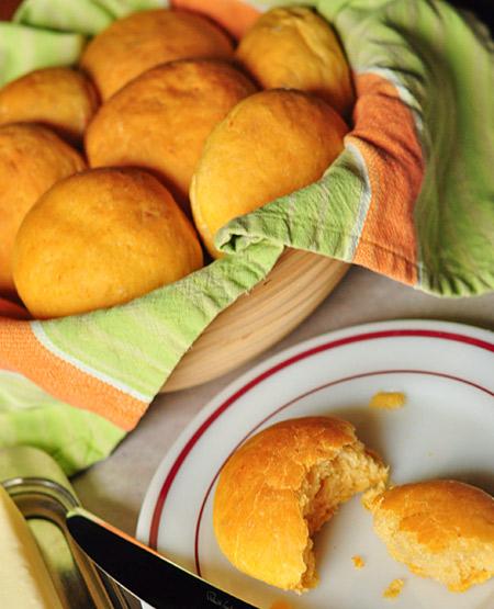 No knead dinner rolls photo 1
