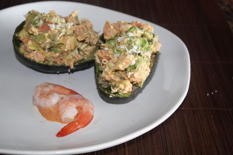 Seafood salad photo 2
