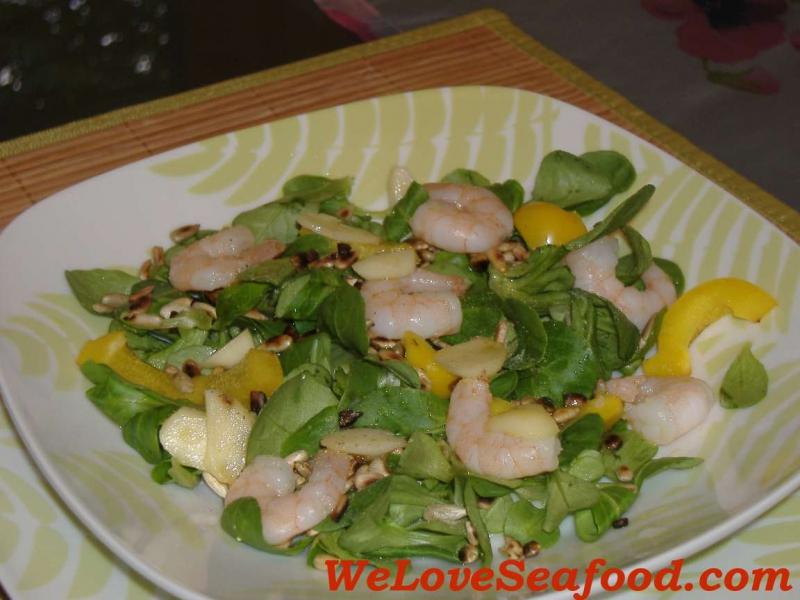 Seafood salad photo 1