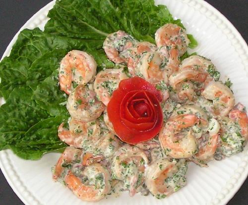 Seafood salad photo 3