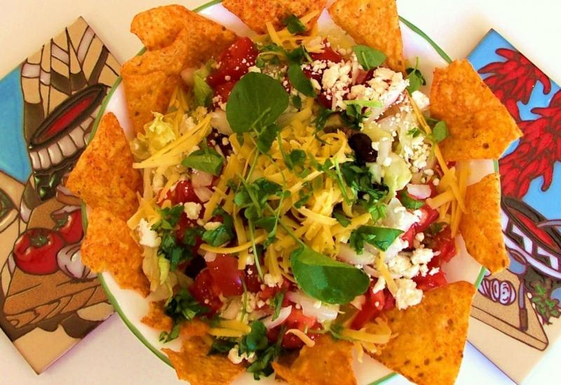 Taco salad photo 3