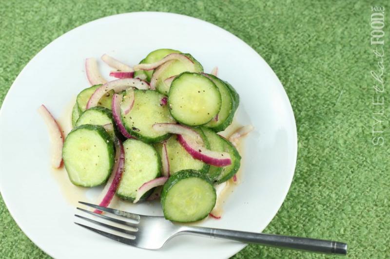 Marinated cucumbers photo 2