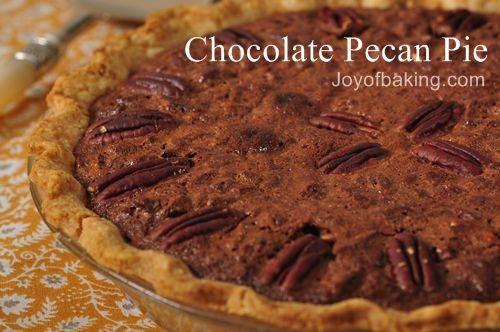 Chocolate pecan pie photo 2