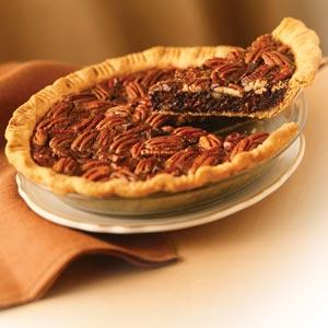 Chocolate pecan pie photo 1
