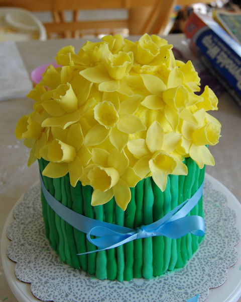 Daffodil cake photo 2