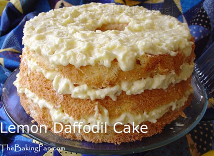 Daffodil cake photo 3