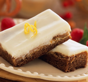 Gingerbread bars photo 2