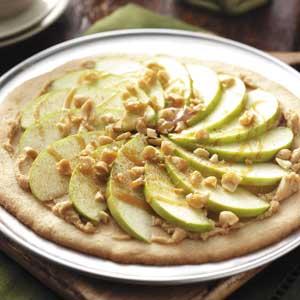 Apple pizza photo 1