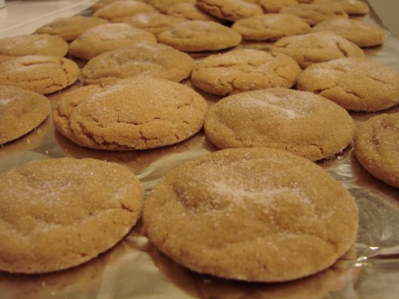 Big soft ginger cookies photo 2