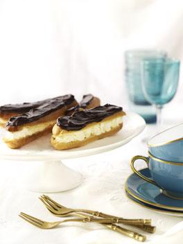 Chocolate eclair photo 3