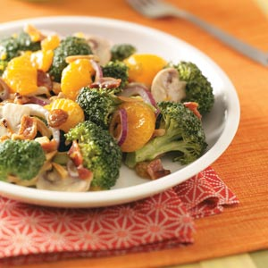 Fresh broccoli salad photo 1