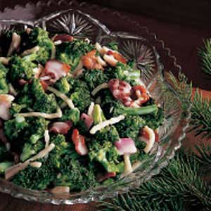 Fresh broccoli salad photo 2