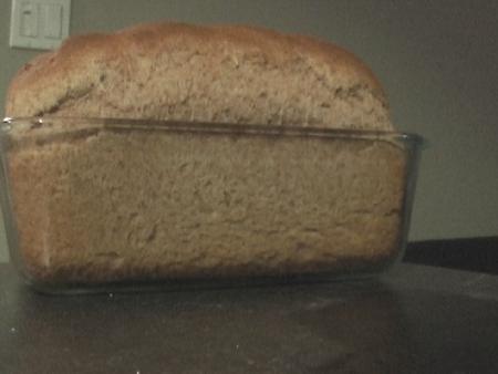 Honey whole wheat bread photo 3