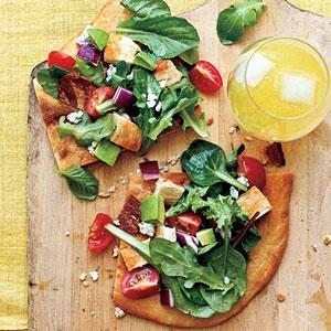 Pizza salad photo 2