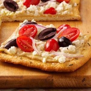 Pizza salad photo 3