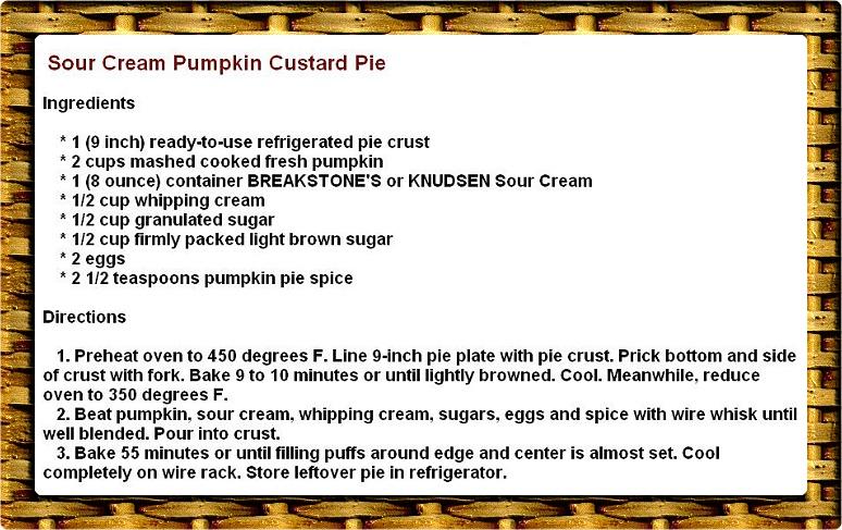 Pumpkin custard photo 1