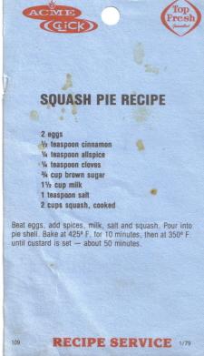 Squash pie photo 2