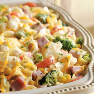 Ham and noodle casserole photo 1