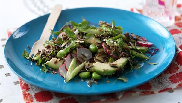 Wild rice salad photo 1