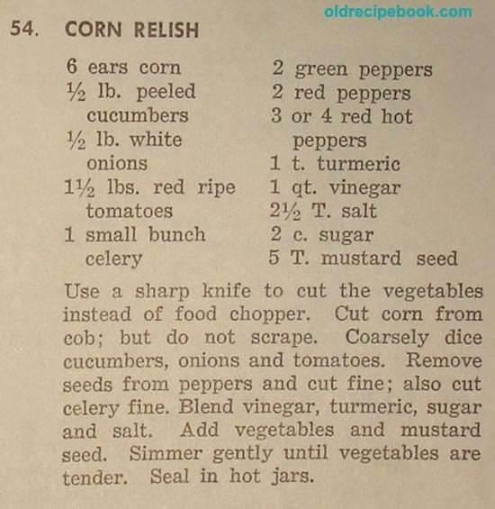 Corn relish photo 1
