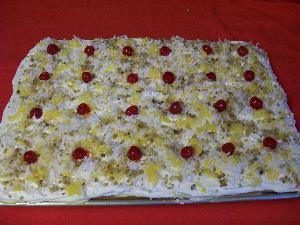 how to make yam cake