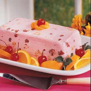 Frozen cherry salad photo 1