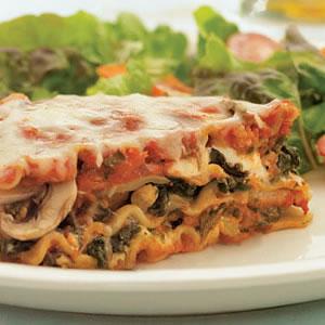 Spinach lasagna photo 1