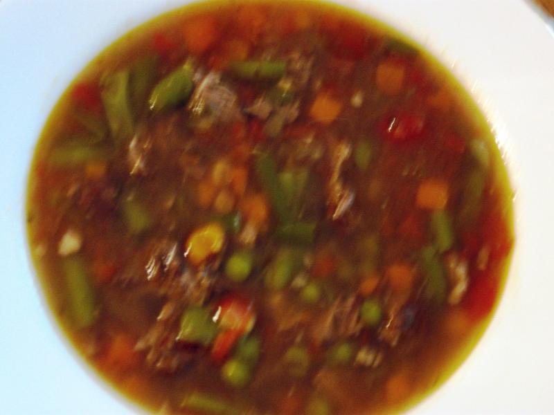 Vegetable soup photo 1
