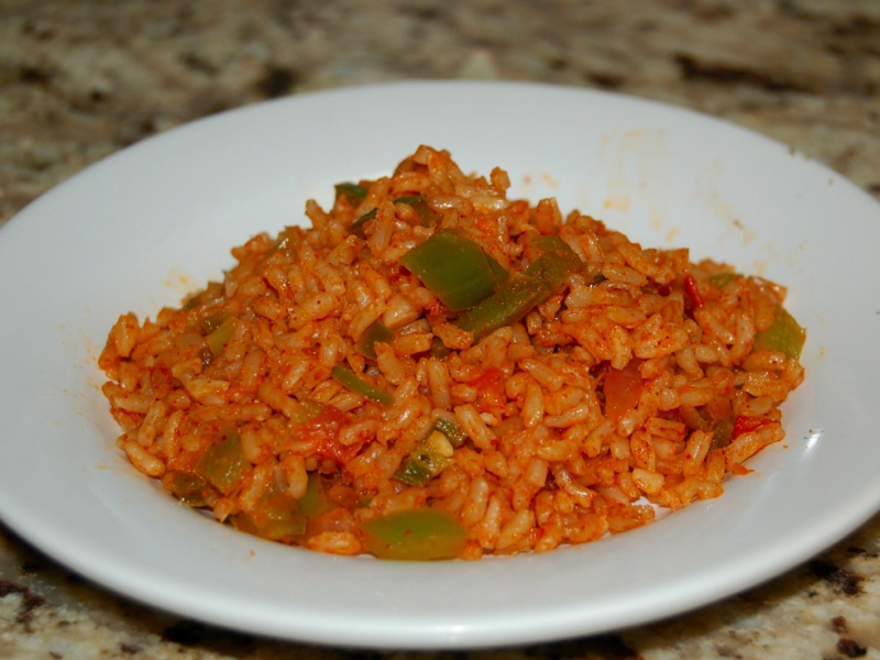 Mexican rice photo 3