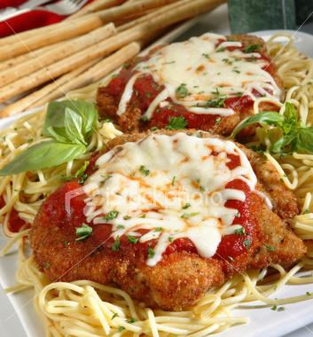 Chicken parmigiana photo 2
