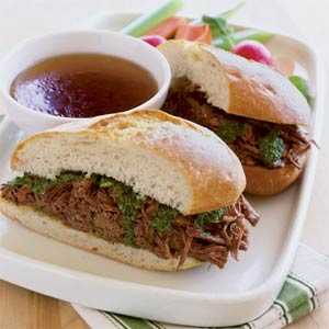Italian beef sandwiches photo 1