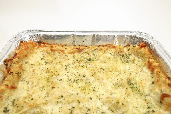 White lasagna photo 1