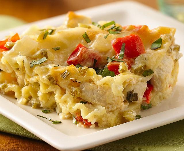 White lasagna photo 3