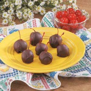 Chocolate covered cherries photo 2