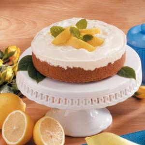 Frozen lemon pie photo 2