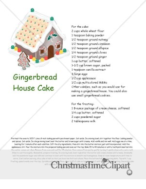 Gingerbread cake photo 2