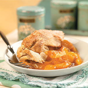 Peach cobbler photo 1