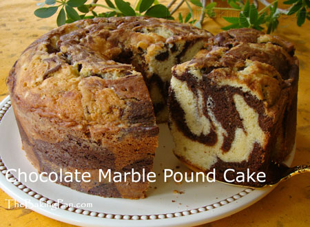 Chocolate pound cake photo 1
