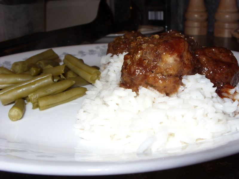 Sweet and spicy meatballs photo 1