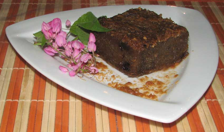 Sweet potato pudding photo 2