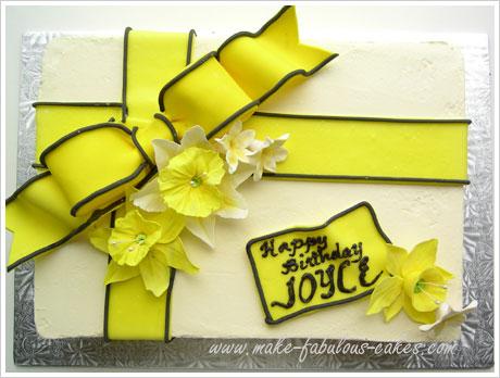 Daffodil cake photo 3