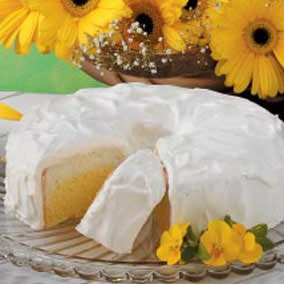 Daffodil cake photo 2