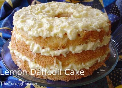 Daffodil cake photo 1