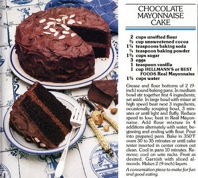 People Who Make Vintage Recipes For Cakes