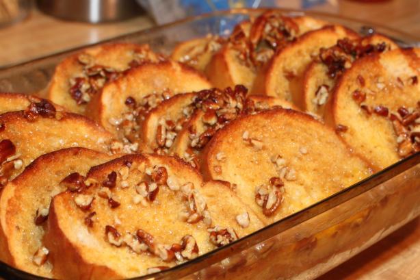 Baked french toast photo 3