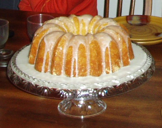 Lemon juice cake photo 1